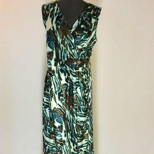 Avenue Women Summer  Maxi-Dress Sleeveless Sz14/16